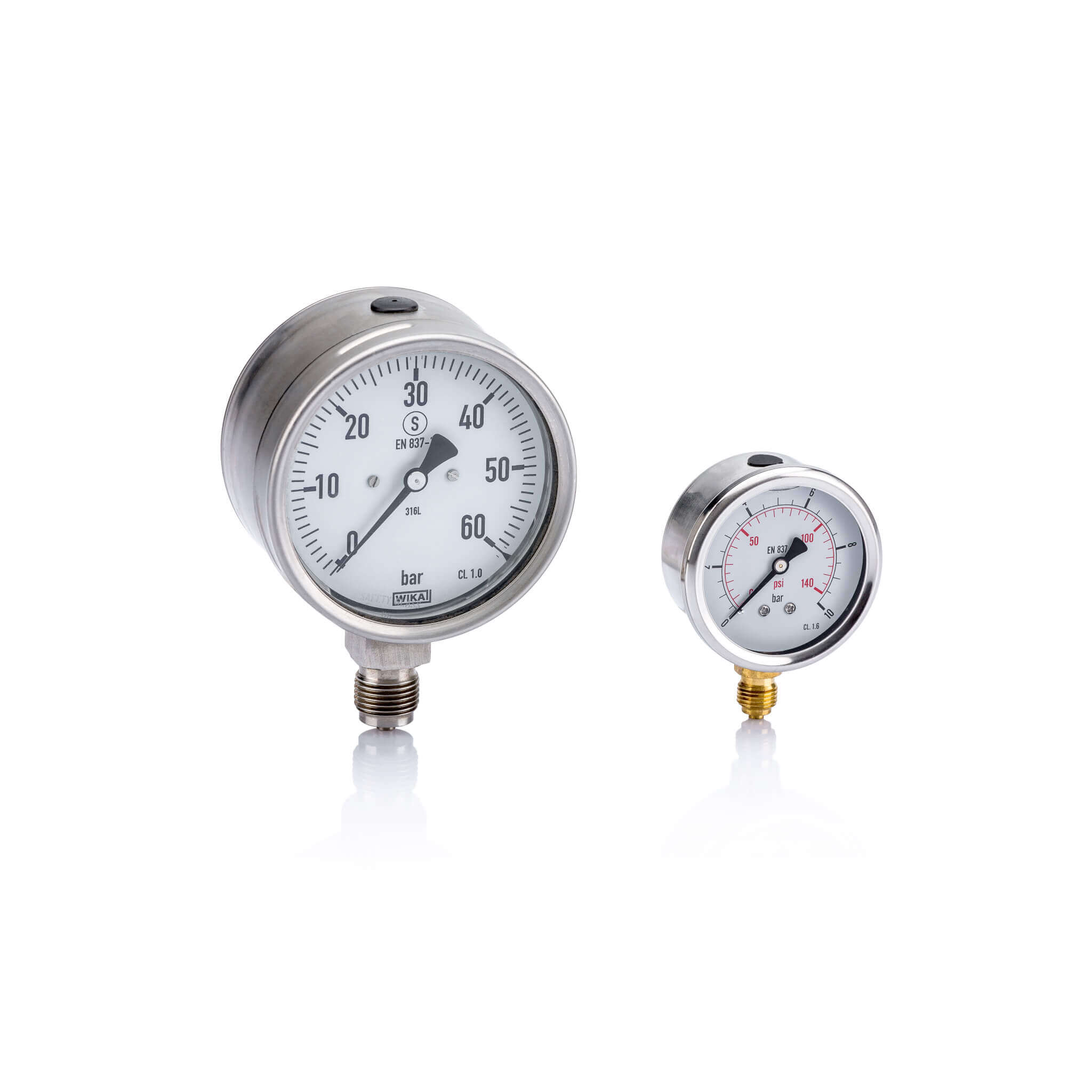 Hydraulic manometers