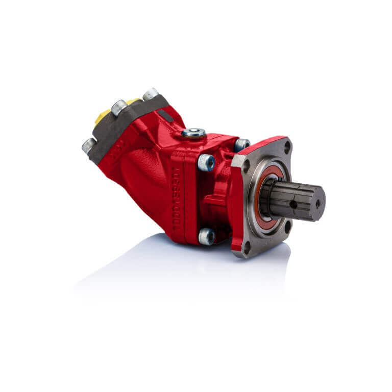hydraulic motors red